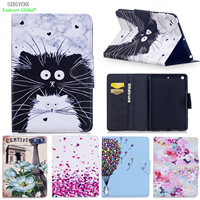 Cover For IPad Mini 123 PU Leather Smart Stand Shell Tablet Case For IPad Mini 1