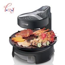 Электрическая печь для барбекю, электрическая духовка, бытовая Бездымная машина для барбекю, антипригарная сковорода, гриль для барбекю, KQB-315