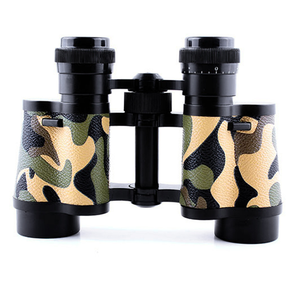Camouflage 8x30 HD Outdoor Military font b Binoculars b font Telescope 8x Zoom FMC Optical Lens
