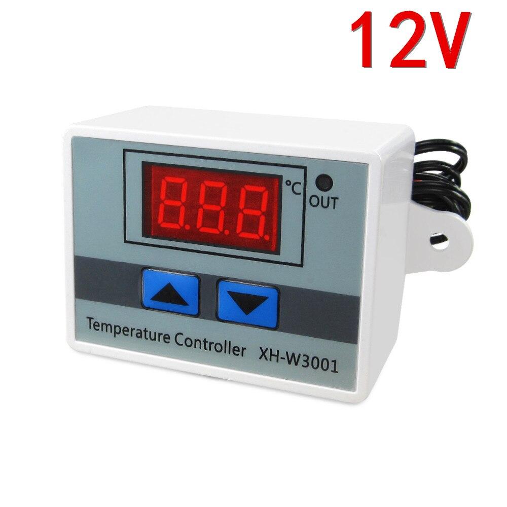 ! Xh-w3001 Digitale Thermostat Temperaturschalter Mikrocomputer Temperaturregler Temperaturregelung Schalter Temperatur 12 V Den Menschen In Ihrem TäGlichen Leben Mehr Komfort Bringen