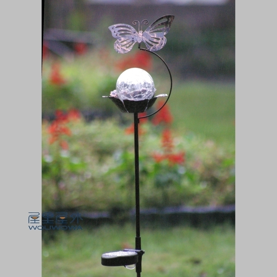 Small Garden Solar Spot Lights: Fashion Iron Vintage Solar Lights Lighting Solar Garden