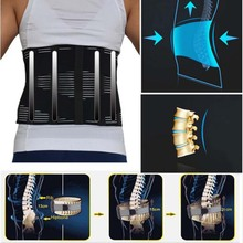 Ортопедическое нижнее белье для мужчин, поясничный корсет с ремнем для облегчения боли в спине
