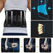 Orthopädische Unterwäsche für Männer Bandscheibenvorfall Disc Brace Lenden Korsett Niedriger Taille Einstellbar Relief Zurück Schmerzen Gürtel Lumber Unterstützung
