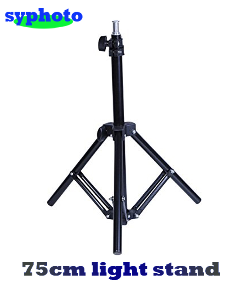 Free tax to Russia 2 3ft 75cm New Professional Studio Adjustable Soft Box Flash Continuous Light