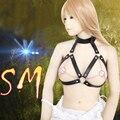 Adult Sex Massage Toys Erotic Sex Positioning  Bondage Leather Corsage Breast Restraint Belt Fetish Womanizer Couples BDSM Game