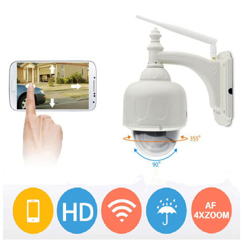 WIFI IP Security Camera 960P HD video Home Security Surveillance 360 Night Vision Waterproof Motion Detection Camera Outdoor PTZ seven promise hd 960p ip camera wifi motion detection outdoor waterproof mini card black surveillance security