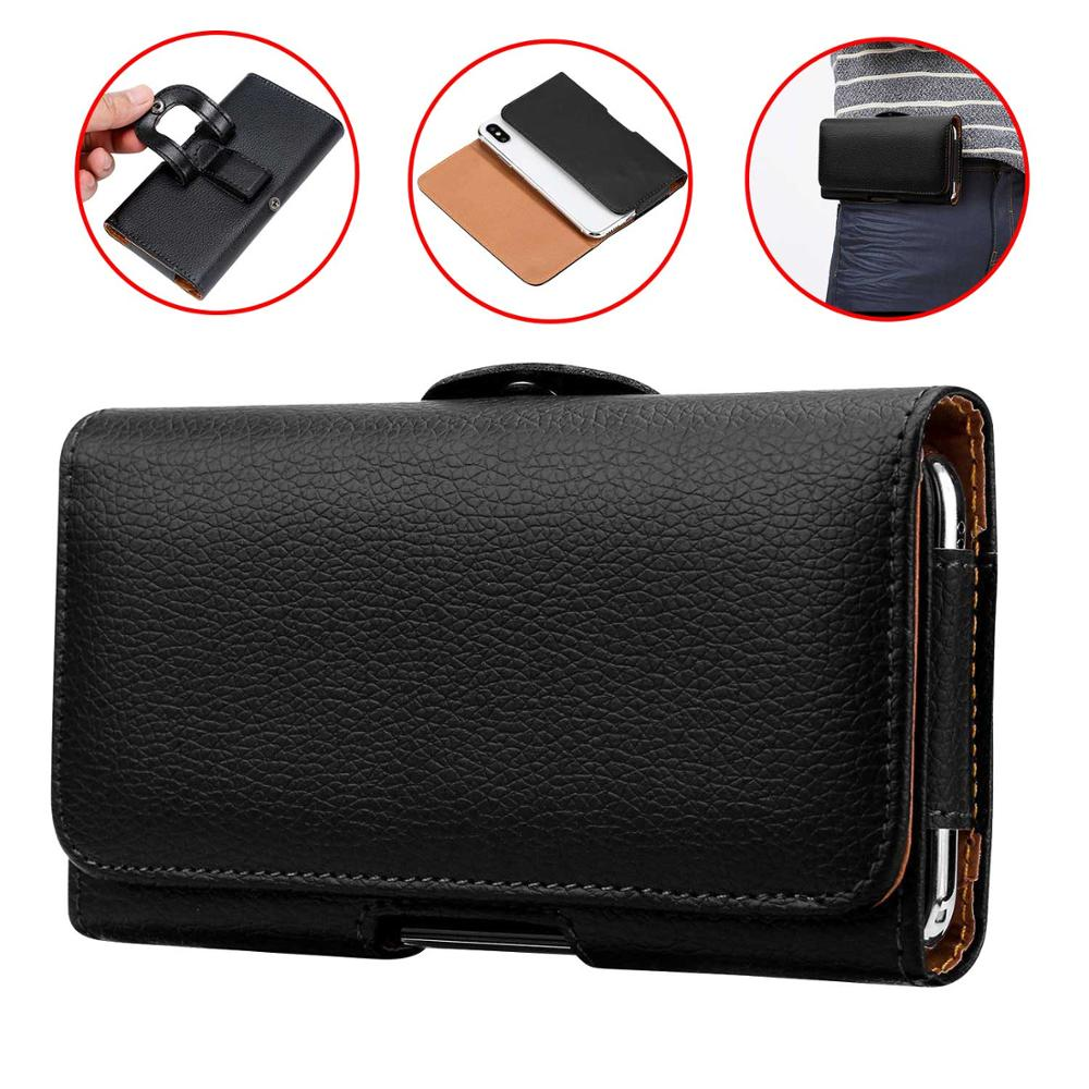 Phone <font><b>Case</b></font> Pouch For <font><b>iPhone</b></font> Xs Max <font><b>XR</b></font> 8 7 6 6S Plus <font><b>Belt</b></font> Clip Waist Bag Holster Leather Cover for <font><b>iPhone</b></font> 5 5S SE 5C 4 4S <font><b>Case</b></font> image