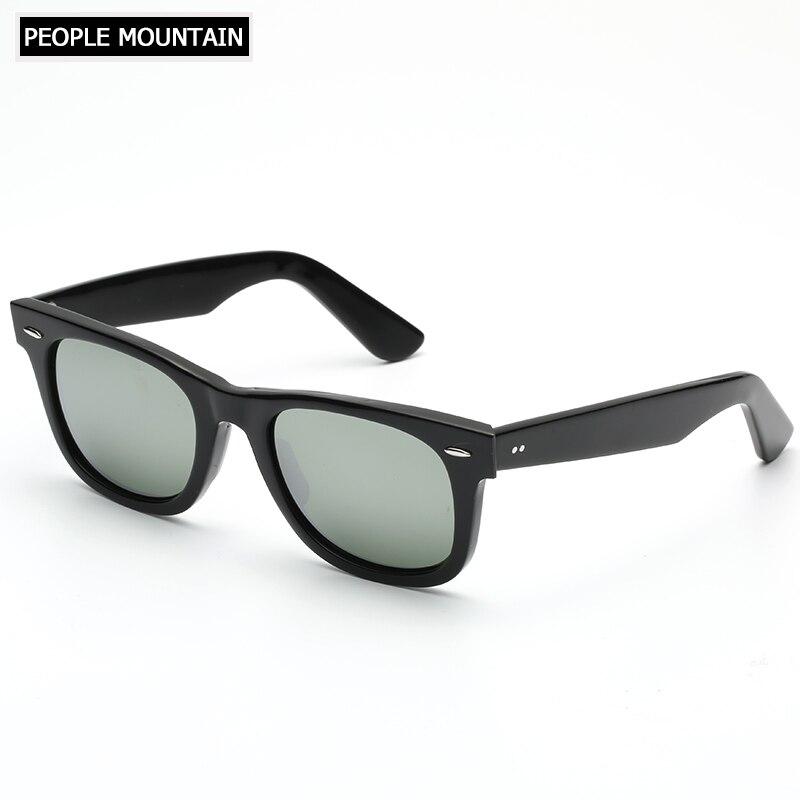 f30eb6ed22 Square Glass Sunglasses Gradient Lens High Quality Acetate Frame Women Men  Uv400 Sun Glasses Oversize Oculos ...