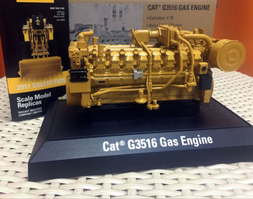 1/25 Scale Metal Model DieCast Caterpillar Cat G3516 Gas Engine By DieCast Masters DM85238