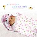 Y130-2 Summer models cartoon neonatal baby blanket  cotton infant coated newborn wrap sleepsack cute comfortable swaddling