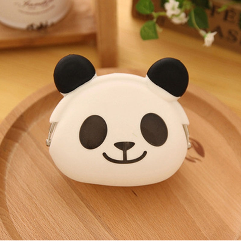 2016 New Cute Wallet Cartoon Candy Color Silicone Coin Purse Jelly Coin Purse Key Wallet Earphone Organizer Storage Box  pocket