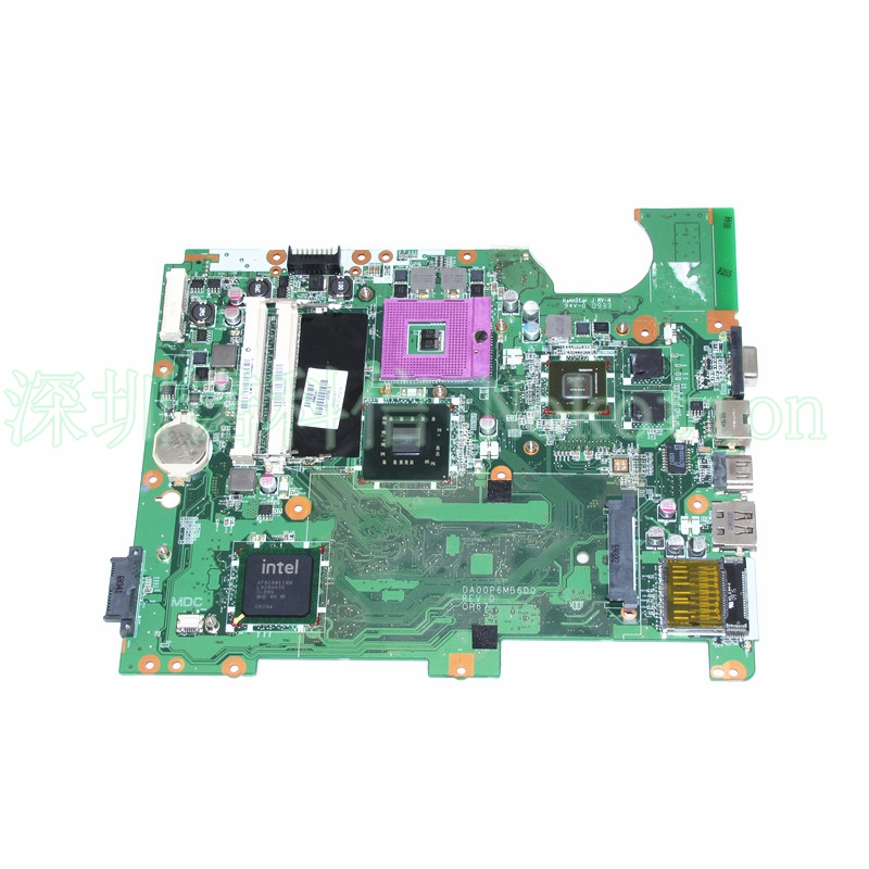 NOKOTION 310P6MB01E0 DA00P6MB6D0 578000-001 for HP  compaq presario CQ61-300 Intel Laptop Motherboard graphics nokotion sps v000198120 for toshiba satellite a500 a505 motherboard intel gm45 ddr2 6050a2323101 mb a01