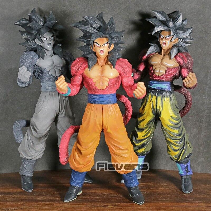 Dragon Ball GT Super maître étoiles pièce le Super Saiyan 4 fils Goku brosse PVC Figure modèle à collectionner jouet