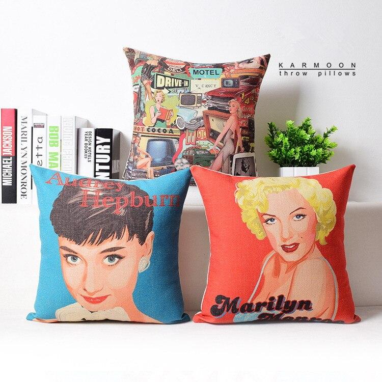 Aliexpress.com : Buy Bopo Marilyn Monroe Audrey Hepburn