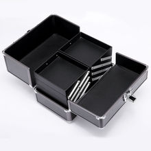 Lockable Bag Aluminum Alloy Makeup Case