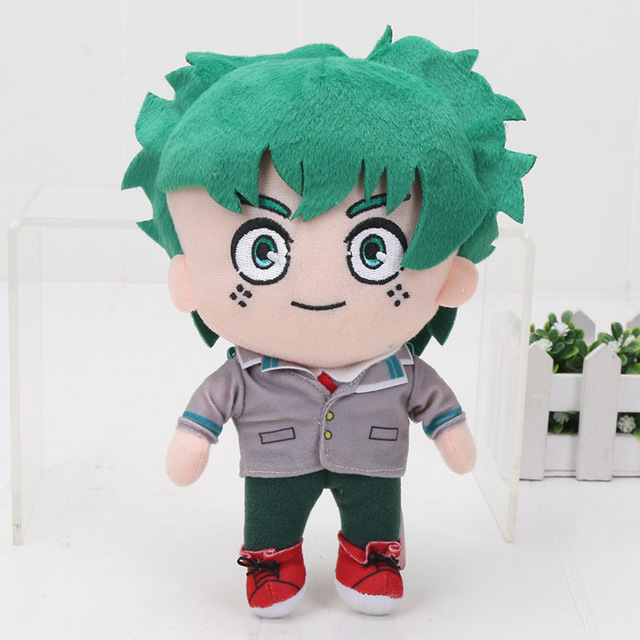 Anime My Hero Academia Plush Figure Toys Todoroki Shoto Izuku Midoriya Bakugou Katsuki Stuffed Soft Plush Keychain Dolls  20cm