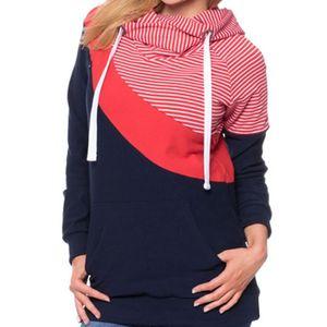 Image 5 - Mutterschaft Kleidung Mode Multifunktionale Mutter Stillen Hoodies T shirt Nähte Stillen Schwangerschaft Frauen Kleidung