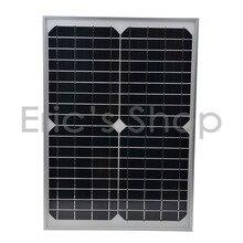 Высокое качество 20 Вт 18 В поликристаллического Панели солнечные используется для 12 В Батарея Мощность дома Системы солнечных батарей
