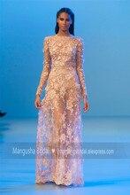 2016 Elie Saab Design Abendkleid Wunderschöne Blumen Perlen Luxus Kleider Cocktail Party Heißer Verkauf Robe De Soiree MY1019-21