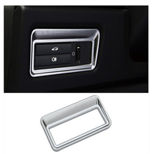 Chrome Tail Door Button Cover Trim Sticker for For Jaguar XF XJ XJL Car Accessories