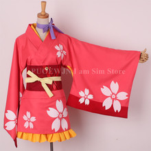 Kabaneri of the Iron Fortress / Kotetsujo no Mumei Kimono Cosplay Costume
