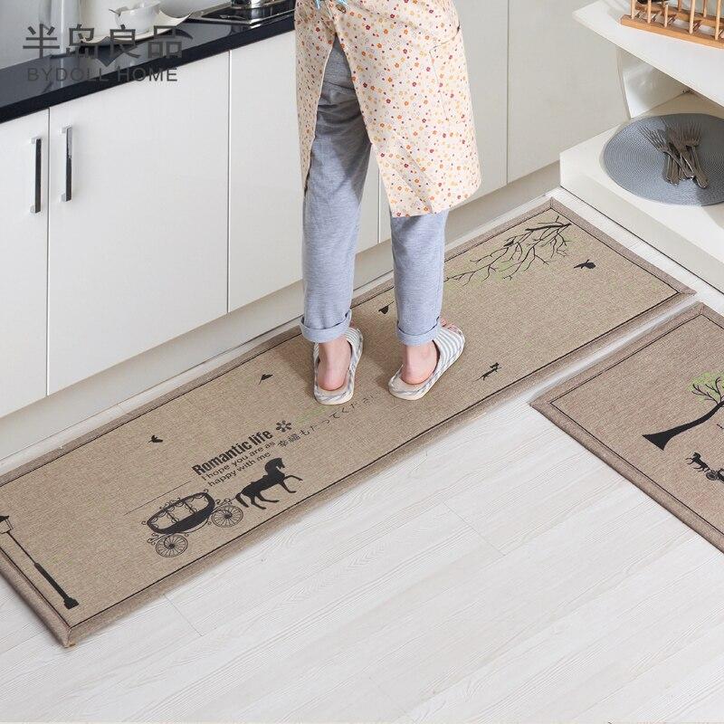 50X80 CM + 50X160 CM/Set Fußmatte Rutschfeste Küche Teppich ...