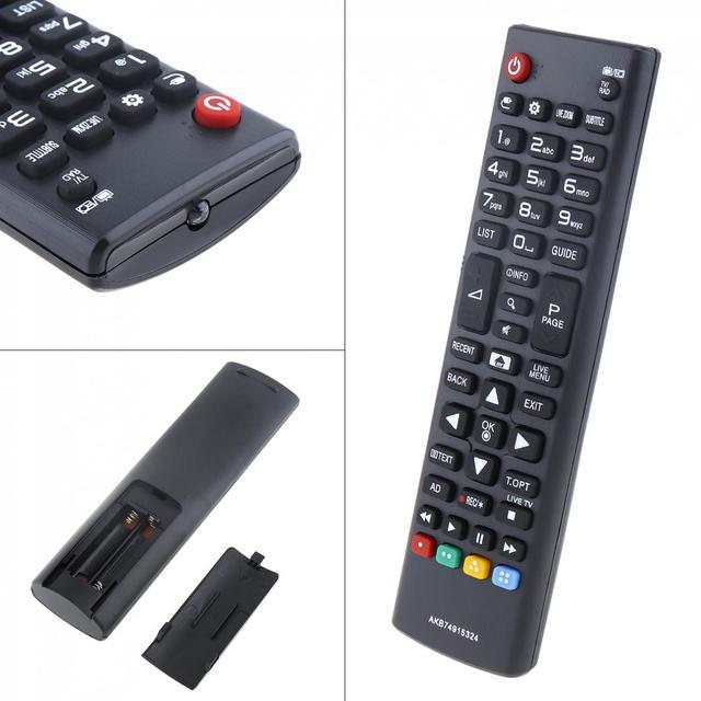 AKB74915324 การเปลี่ยนทีวีรีโมทคอนโทรล Long สำหรับ LG TV 43UH610V / 50UH635V / 32LH604V