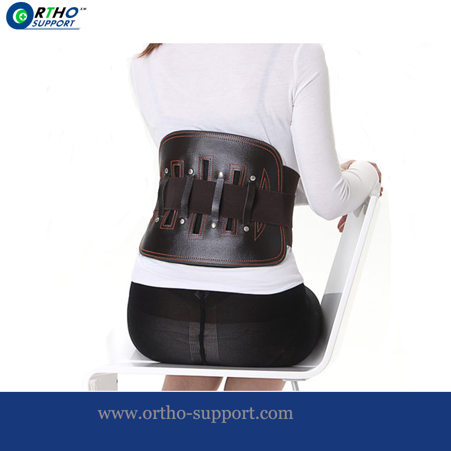 Leather Waist Support With Steel Heavy Weight Protect Lower Back From Injury Waist Belt Prevent Back Pain Orthopaedic Brace lower dens lower dens escape from evil lp