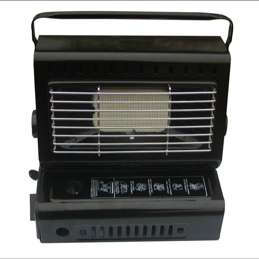 Chauffage extérieur brûleur à gaz chauffage voyage Camping randonnée pique-nique équipement double usage Portable poêle chauffage fer
