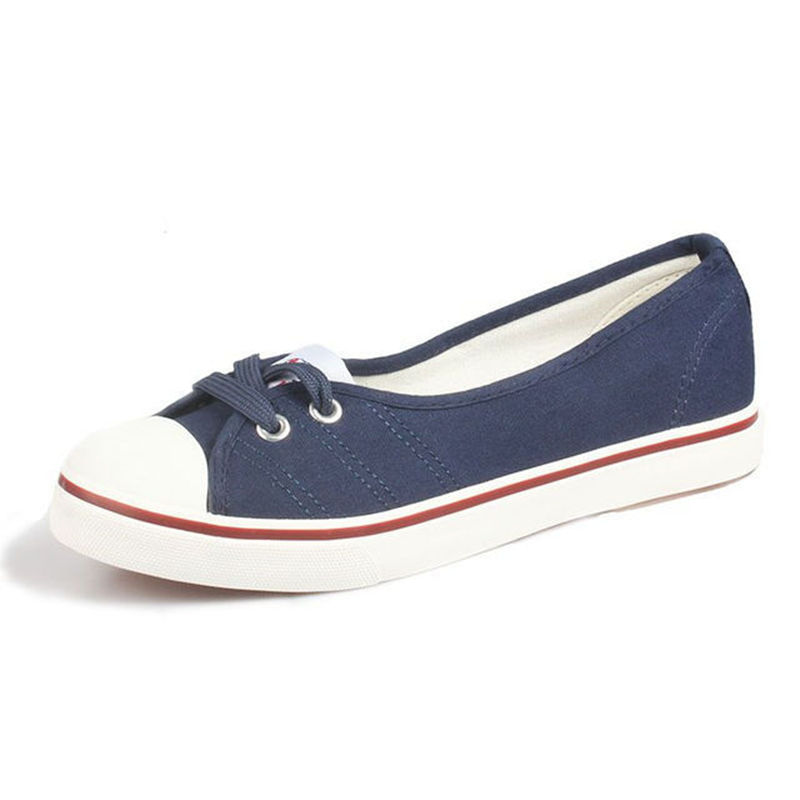 2018 Summer Light Ballet Flats Loafers Casual Rubber Breathable Women Flats Slip On Canvas Flats Shoes Women Low Shallow 305W xiaying smile flats shoes women boat shoes spring summer office casual loafers slip on pointed toe shallow rubber women shoes