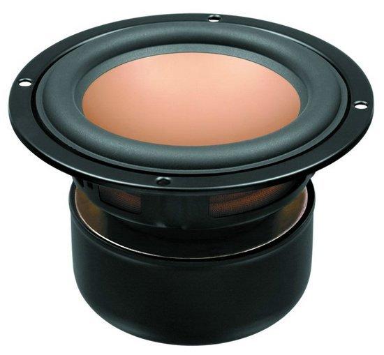 1PCS Original HiVi M5N 5inch Midrange Speaker Driver Unit Magnesium Aluminum Cone Shielded 8ohm/35W D144mm Round Frame
