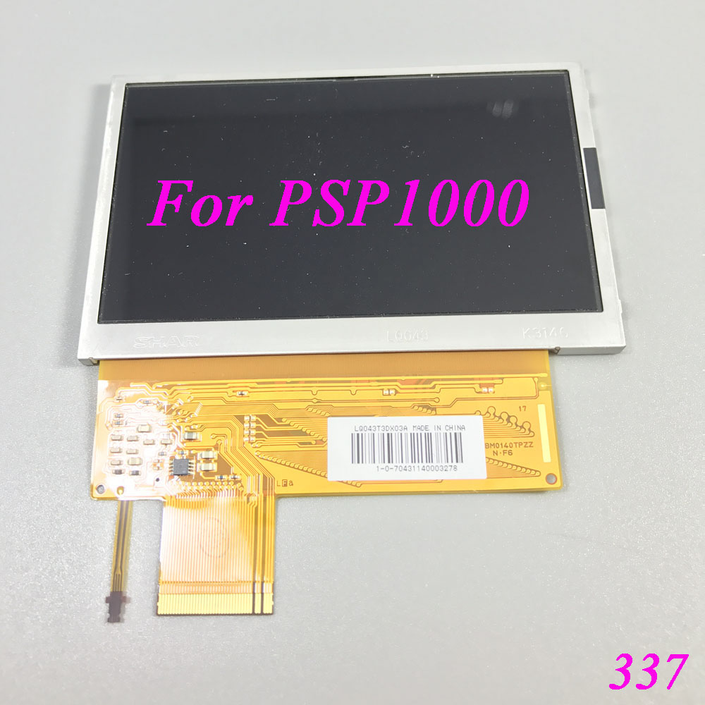1pcs - 10pcs High Quality Brand New Original LCD Display Screen For PSP1000 PSP 1000 10pcs new high quality full lcd display screen