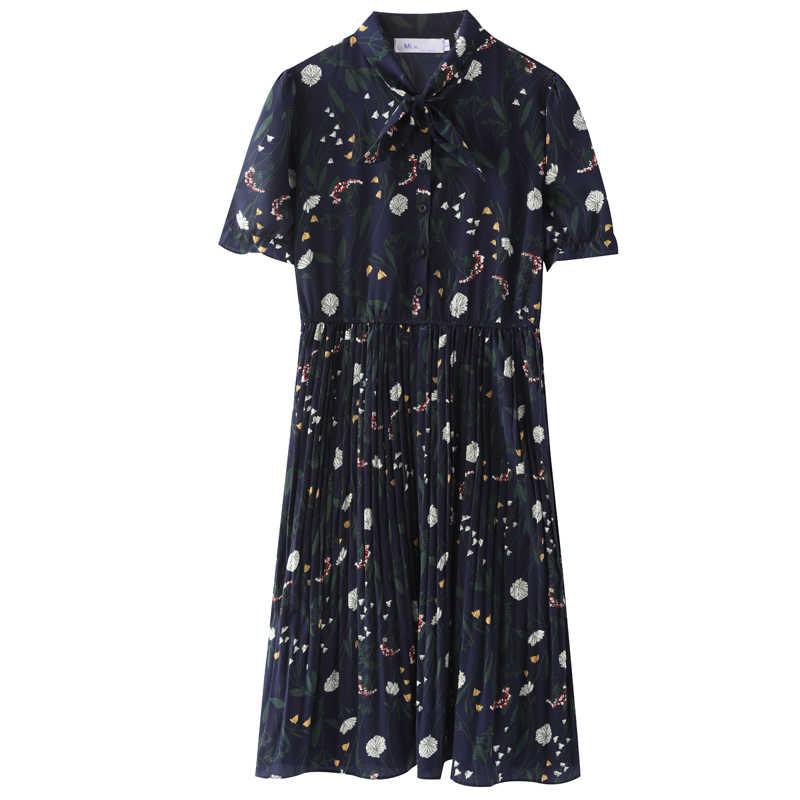 1925 # милый цветочный принт шифоновое летнее платье для беременных модная одежда для беременных элегантная одежда для беременных кормящих