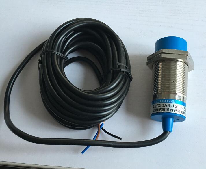 4m wire capacitive proximity sensor LJC30A3-15-H-Z/BY DC6-36V PNP NO 3-wire 0-15mm detective distance 30mm capacitive proximity sensor switch nc 25mm detection distance ljc30a3 h j dz 2 wire ac90 250v mounting bracket