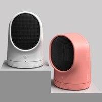 500W PTC Ceramic Heating Stove Office Home Mini Handy Heater Warmer Electric Desk Heating Fan Durable ABS Shell Warmer