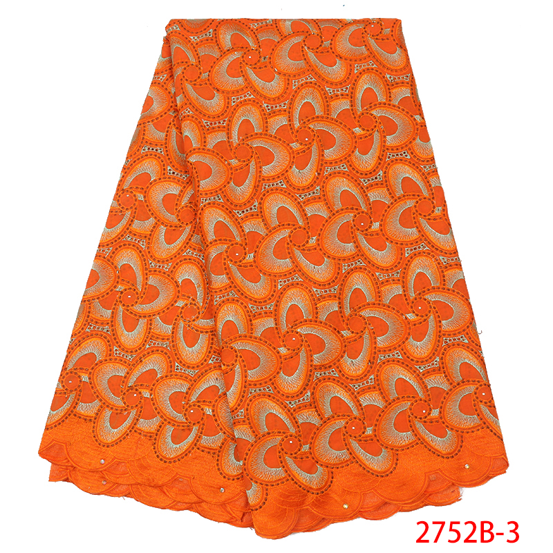 Swiss Lace Fabric Dress Latest,African French Voile Lace In Switzerland,High Quality Nigerian Dry Cotton Lace Fabric KS2752B-3