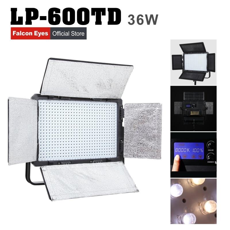 Falconeyes 36 W LED luz de estúdio fotografia de microfilmagem ao ar - Câmera e foto