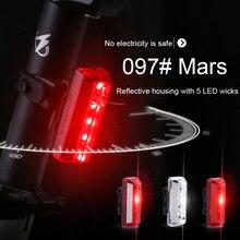 Фонарь велосипедный Аккумуляторный с USB, водонепроницаемый