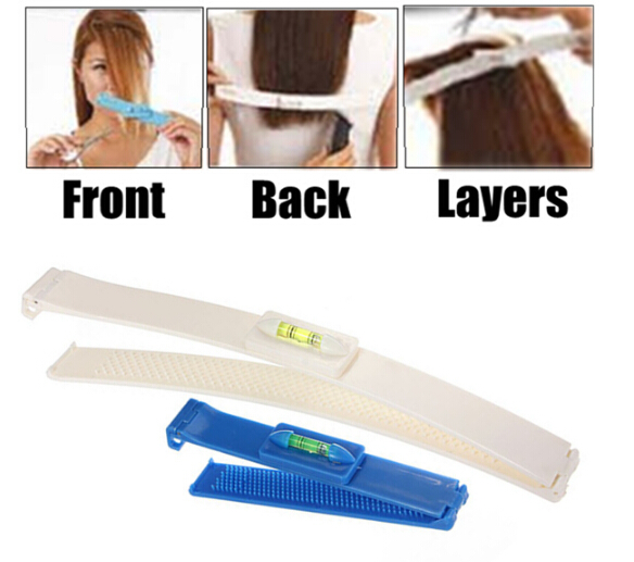 1 Set X Pro Clipper Trimmer Thinning Haircutting Hairstyling Salon Cutting Tools Kit DIY Hair Styling Ruler