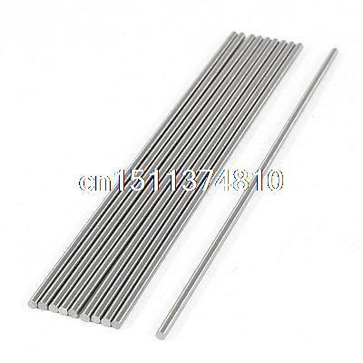 10pcs 1.8mm x 100mm Graving Tool Round Turning Lathe Bars Gray 2mmx100mm hss graving tool round turning lathe carbide bars stick 20pcs