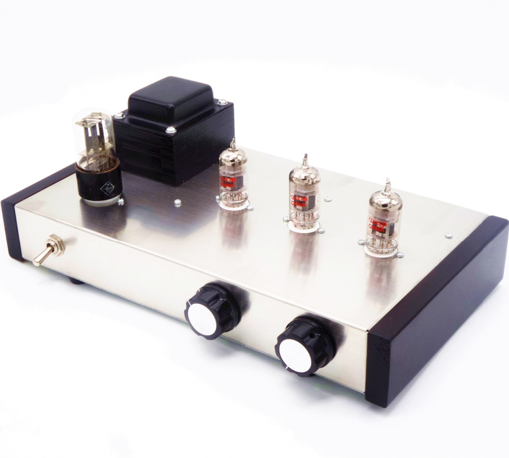 Nobsound music 12AX7B Vacuum tube Pre-AMP Hifi Audio preamplifier Classic marantz 7 circuit amplifiers music hall new 6h3n vacuum tube preamplifier hifi buffer pre amp matisse circuit