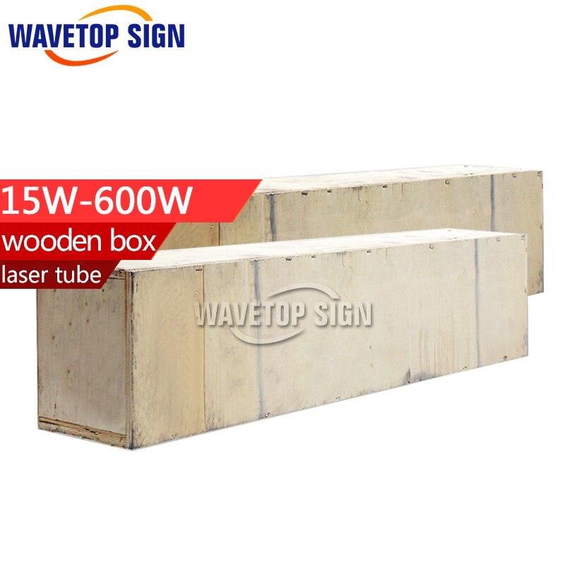 free shiping laser tube wooden box  15w 30w 40w 45w 50w  60w  80w 100w 130w 150w 180w 200w laser power box 80 co2 laser power box 80w gernally laser power box 80w use for co2 laser tube 80w