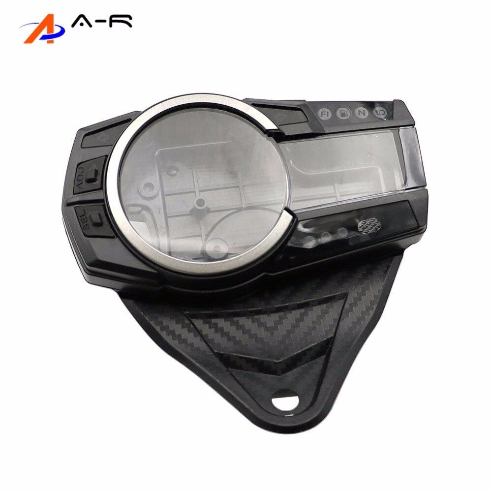 Speedometer Tachometer Gauges Cluster Instrument Case Cover For Suzuki GSXR600 GSXR750 2011 2014 GSX R750 GSXR