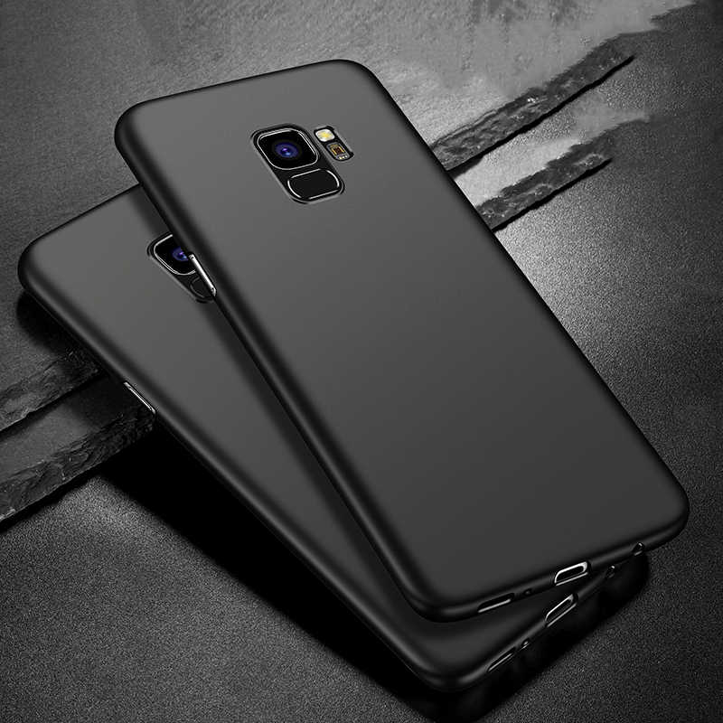 BaySerry Slim Soft Phone Case For Samsung Galaxy S9 S8 Plus Ultra Thin Matte Cover Cases For Samsung Note 9 S7 Edge S6 S8 Case