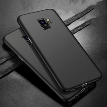 BaySerry Slim Soft Phone Case For Samsung Galaxy S9 S8 Plus Ultra Thin Matte Cover Cases Note 9 S7 Edge S6