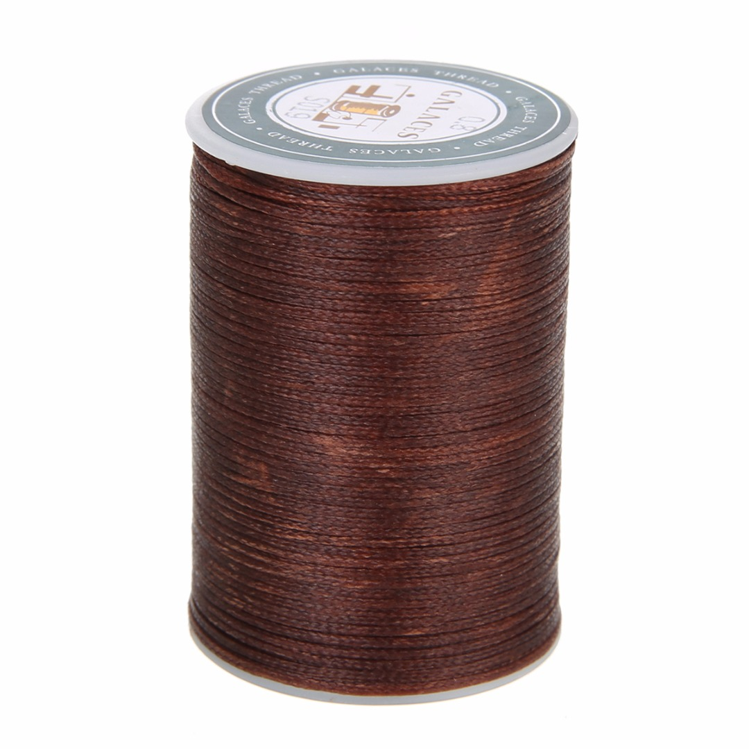 0 8mm Waxed Thread Repair Cord String Sewing Leather Hand Wax Stitching DIY Thread For Case Arts Crafts Mayitr Handicraft Tool in Thread from Home Garden