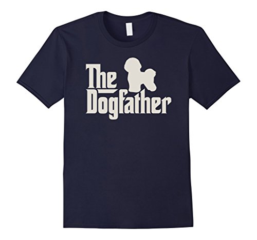 The Dogfather Bichon Frise Funny Dog Owner Shirt Men 39 S Short Sleeve T Shirt Cotton New Men Summer Tops Casuals T Shirts in T Shirts from Men 39 s Clothing