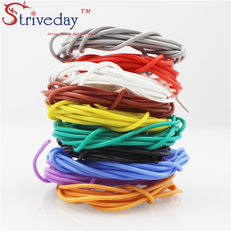 <font><b>13AWG</b></font> flexible <font><b>silicone</b></font> wire 500 / 0.08TS outer diameter 4.0mm 2.5mm wire and <font><b>cable</b></font> tinned copper wire stranded wire image