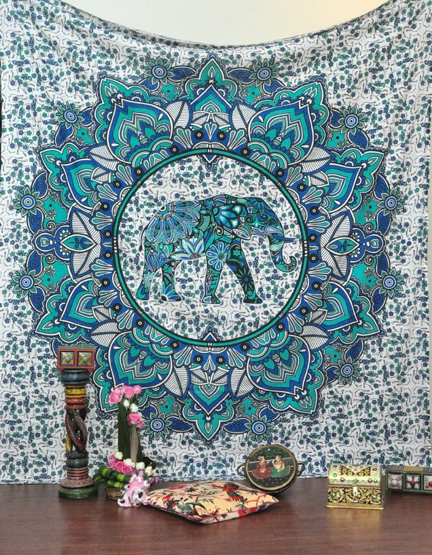 aeProductgetSubject Antique Compass Hippie Indian Elephant Mandala
