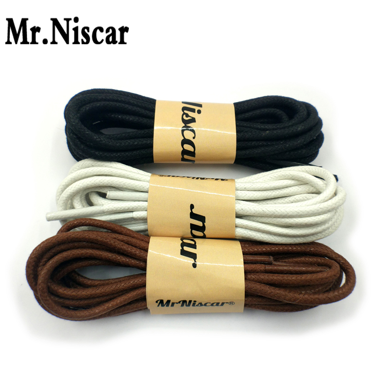 1 Pair Round Waxed Shoelaces for Dress Shoes Wax Cotton Waxing Rope Dia 3mm 60-180cm High Quality Waterproof Leather Shoes Laces1 Pair Round Waxed Shoelaces for Dress Shoes Wax Cotton Waxing Rope Dia 3mm 60-180cm High Quality Waterproof Leather Shoes Laces